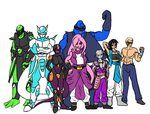 DB Xenoverse - Full Team by DeviantK14