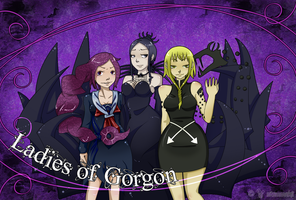 Ladies Of Gorgon by MitsuneMarufuji
