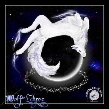 Wolf Eclipse by CrystalJoy-Creations