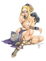 DnD Pinup: The Eladrin by Everwho