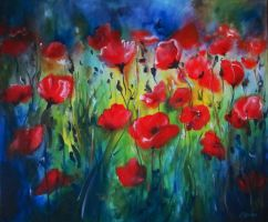 Poppies by Cllaud