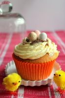 (Real) Easter cupcake by EmisBakery