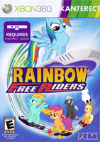 Rainbow Free Riders by nickyv917