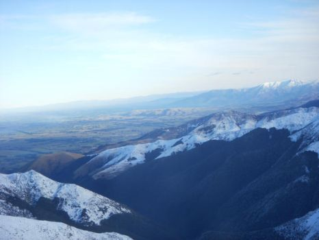 From Mt Hutt: 8 by AnOdeToMaybe