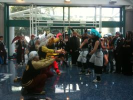 Anime Expo Black Stars and Souls 1 by Fainting-Ostrich