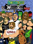 Scooby Doo/S.A.W. WrestleRave Mystery by ChainsawComics