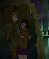 Crystal Cave in danger by Missis-Velma-Rogers