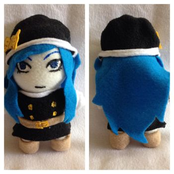 Juvia plush from Fairy Tail 2.0   For Sale by LeslysPlushes