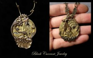 More of Steampunk Garden Theme by blackcurrantjewelry