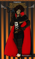 PP: Space Pirate Captain Nima by Ra-ooo
