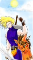 get ready for battle FF7 by Amiki-Zorsez