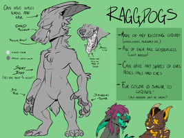 RAGGDOGS REFERENCE [OPEN SPECIES] by Shiro-Daemon