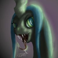 Chrysalis Speedpaint by TatterTailArt