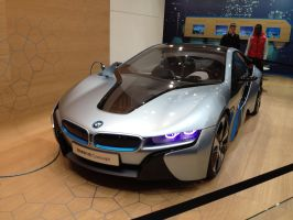 BMW i8 @ Auto Salon Genf / Geneva 2012 by ssj6blizzard