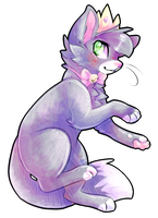 crowned kitty mew mew by Squirrelings