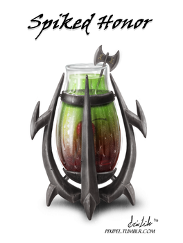 Races of Azeroth Drinks - Orc by themisselink