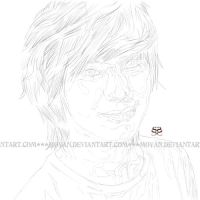 work in progress for Taemin by moyan