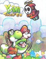 Yoshi Touch and Go by SabrinaMelisa