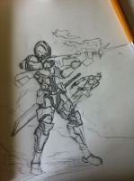Jaller Inika Doodles by SynTheHunter