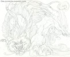 Angry Fu - Pencils by beastofoblivion