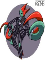 Pokemorphs - Deoxys by kompy