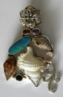 seaside necklace stock 2 by Gothicmamas-stock