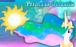 Princess Celestia Wallpaper Redux by BC-Programming