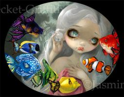 Poissons Volants: Arc-en-Ciel by jasminetoad