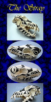 Tribal Stray Wolf Skull by Zhon