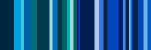 blue color bars by bananaMAK
