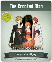 The Crooked Man - RPG Icon by Darklephise