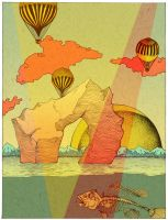 Hot Air in Cold Country - poster by Tegan-Ray