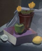 Still Life Painting by identityxXxunveiled
