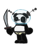 Space Panda by Shadaily