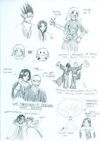 Bleach Doodles 2 by Angel-Uriel