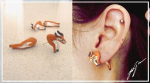 Gazelle Earings by JessicaDunn