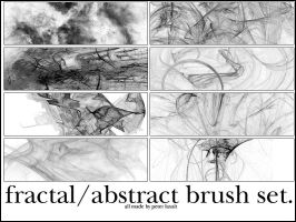 abstract and fractal brushes by twomansam
