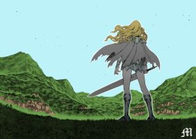 Claymore Teresa by M by MarioTheArtistM