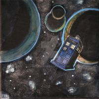 Space And Tardis by hatoola13