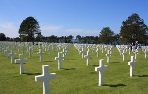 American Cemetery - Colleville sur Mer 2 by YunaHeileen