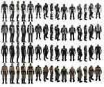 Mass Effect 2, Shepard, Casual Outfits, Male. by Troodon80