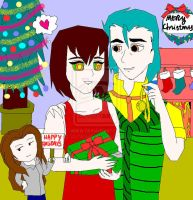 A Christmas With Kaa And Bianca by mewt66