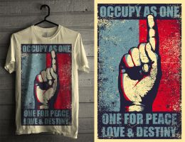 One for Peace, Love, and Destiny by titus-studio