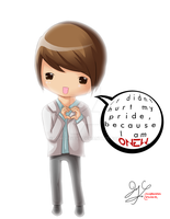 SHINee Chibis: Onew by t0m0y04evr