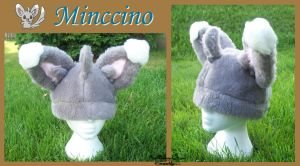 Minccino Hat - $40 -55 by Kai45