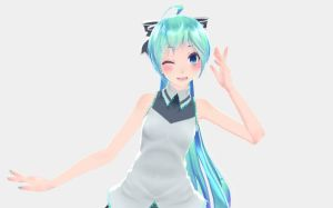 [MMD] Miku by sailor-rice