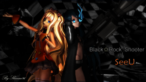 SeeU - Black Rock Shooter LINK by shanaachan