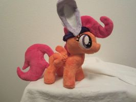 My little pony Scootaloo (bunny) plush by Little-Broy-Peep