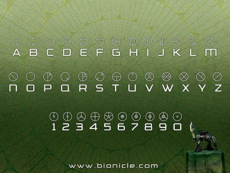 the bionicle language by lugiacollector