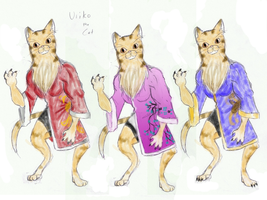 Bloody Roar 4 Redesign- Uriko the Cat by TeamAquaSuicune
